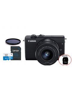 EOS M200 + kit fotográfico